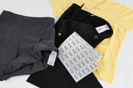 School Uniform Labels - Skirts and Trousers