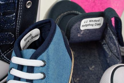 Shoe Labels - Stikins Name Labels
