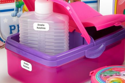 Stikins - Lunchbox Labels and Water Bottle Labels