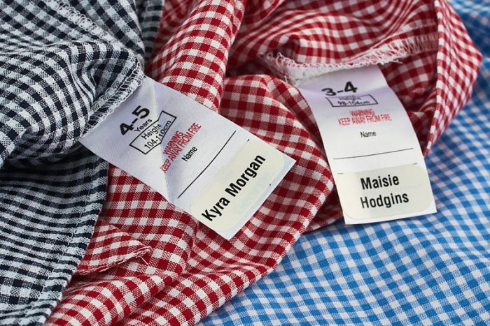 School Uniform Labels Stikins