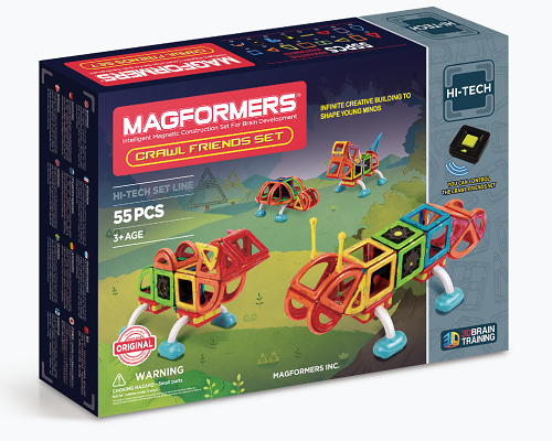 Win A Magformers Crawl Friends Set With Stikins Name Labels