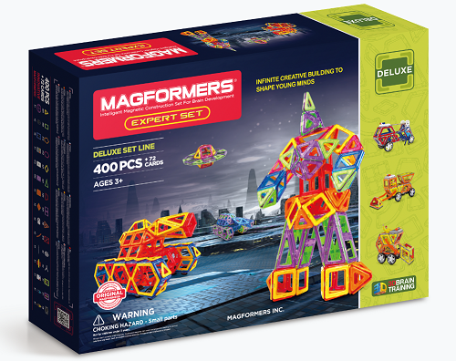 Win A Magformers Expert Set With Stikins Name Labels